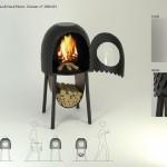3-čia vieta. Invicta krosnelių dizainerių konkurse. Dizaineriai Amandine PEYRESOUBES, Nack PETIOT